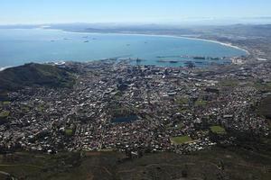 Kapstadt in Südafrika foto
