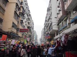 occupato Hong Kong foto