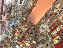 vecchio appartamento a Hong Kong foto