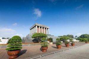 mausoleo di Ho Chi Minh. Vietnam foto