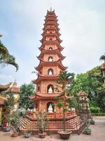 Pagoda di Tran Quoc - Hanoi, Vietnam foto
