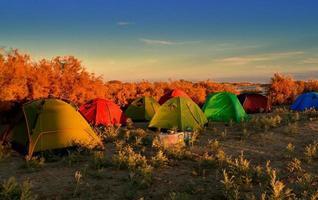 campeggio foto