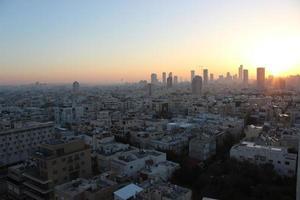 skyline di Tel Aviv foto
