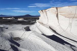 campo de piedra pomez, catamarca, argentina foto