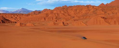 canyon di un diavolo, tolar grande, salta, argentina foto