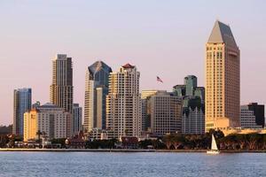 skyline di san diego. foto