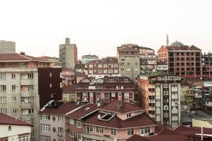 vista aerea di Istanbul foto
