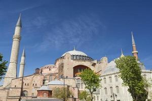 hagia sophia, istanbul, turchia foto