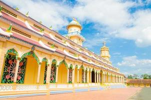 tempio di cao dai nella tay ninh province