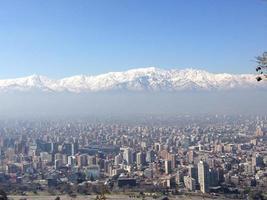 Santiago, Cile foto
