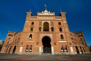 Las Ventas, arena foto