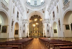 madrid - navata della chiesa di san isidoro foto