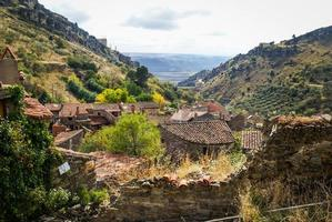 autunno a patones de arriba, comunidad de madrid, spagna foto