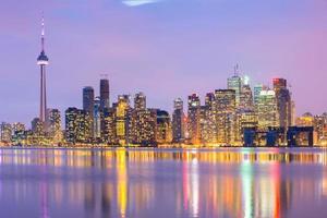 skyline di Toronto foto