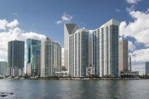 Skyline di Miami durante il giorno foto