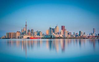 skyline di toronto, canada foto