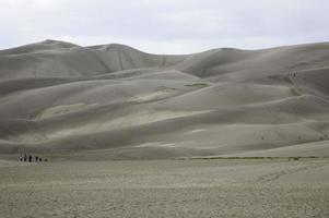 grandi dune di sabbia