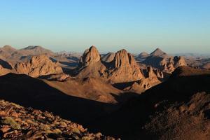 die sahara in Algeri foto
