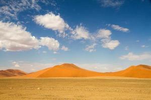 deserto di sossusvlei, namibia foto