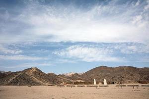 natura del deserto in viaggio in Egitto foto