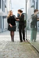 businesstalk femminile foto