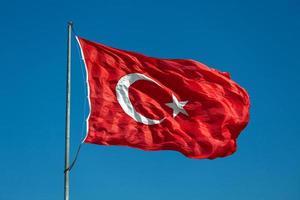 bandiera turca foto