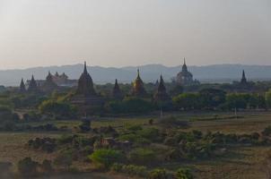 Bagan al tramonto foto
