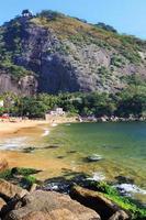 spiaggia rossa, montagna morro da urca, rio de janeiro foto