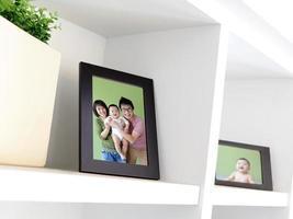 foto di famiglia felice
