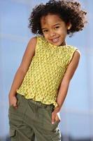 bambino afro foto