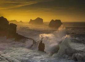 tramonto di valdearenas foto