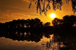 sfondo del tramonto foto