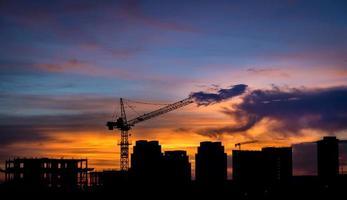 Sorocaba al tramonto foto