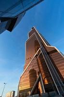 torre della città di mercurio, mosca foto