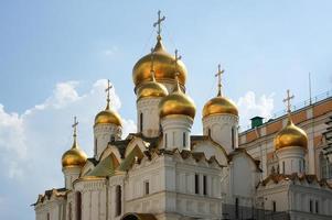 cupole della cattedrale dell'Annunciazione foto