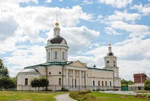 chiesa dell'arcangelo mikhail, città kolomna, zona di mosca, russia foto