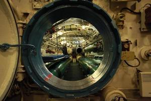 allarme a bordo del sottomarino foto