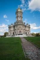 chiesa di dubrovnitsy, podolsk, regione di mosca, russia
