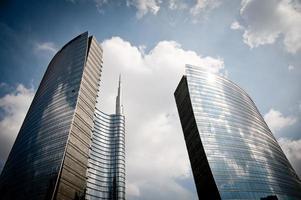 grattacieli di milano foto