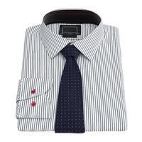 camicia a righe da uomo