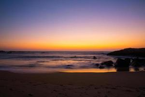 tramonto sri lanka foto
