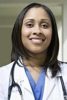 medico ospedaliero femminile foto