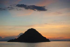 kelor island sunset foto