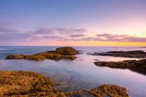 tramonto della California del sud foto