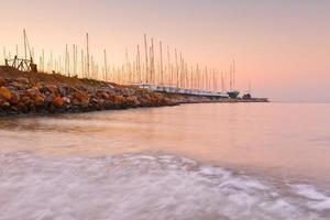 alimos marina di atene. foto