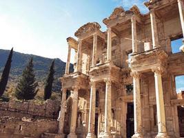 la biblioteca di Efeso foto