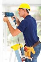 programma di installazione della telecamera CCTV foto