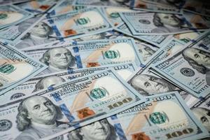 pile di soldi americani