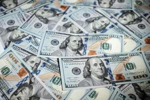 pile di soldi americani foto