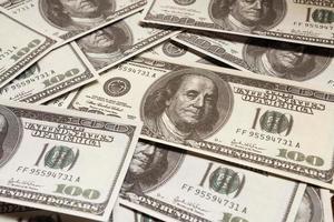 cento dollari, soldi foto